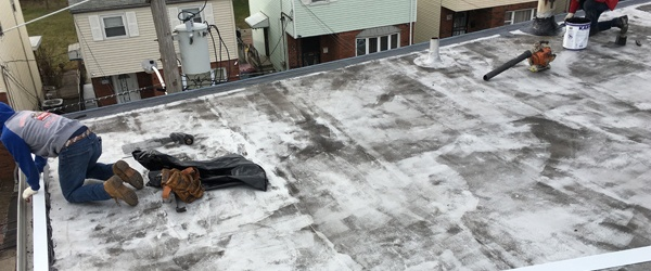 Flat Roof Second Three Brothers Roofing Contractors
