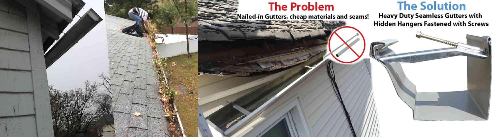 Three Brothers Gutter Repair Services Local Gutter Repair