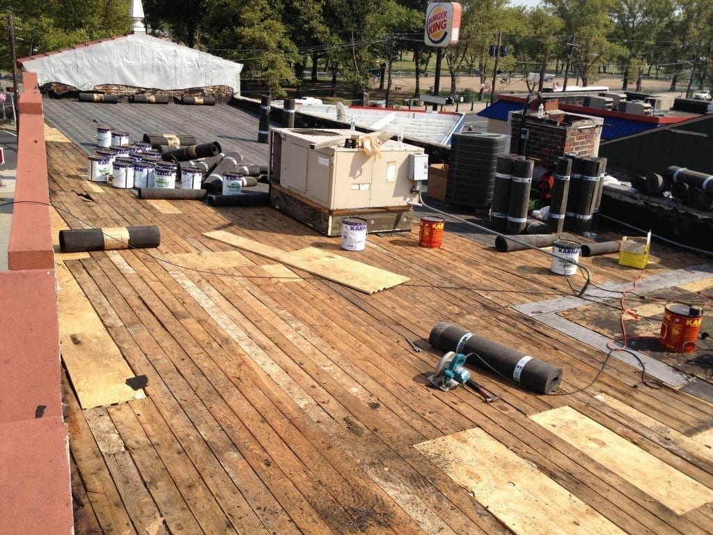 Flat Roof Repair Services Three Brothers Roofing