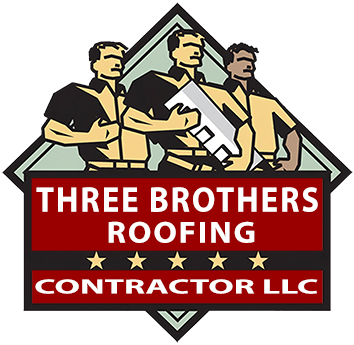 Three Brothers Roofing Contractor Your Local roofers Logo