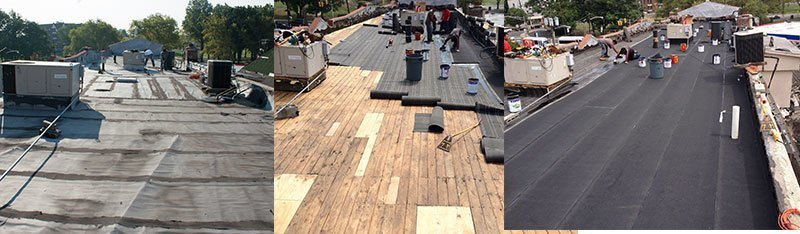 Commercial Roofing Repair Three Brothers Roofing