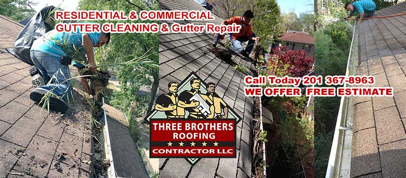 Gutter Cleaning & gutter repair NJ