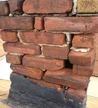 Local chimney repair