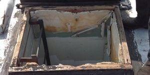 Flat Roof hatch repair NJ