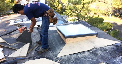 Skylight leak repair specialist, WE STOP Leaks