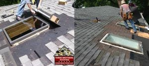 skylight roof installation