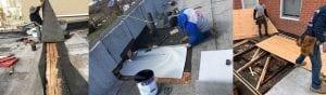emergency flat roof leak repair - Allendale