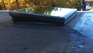 EPDM Flat Roof Skylight leak repair specialist Contractors Near me In New Jersey