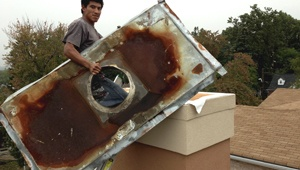 Chimney chase cover repair company near me NJ