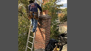 Chimney Crown Repair Specialist