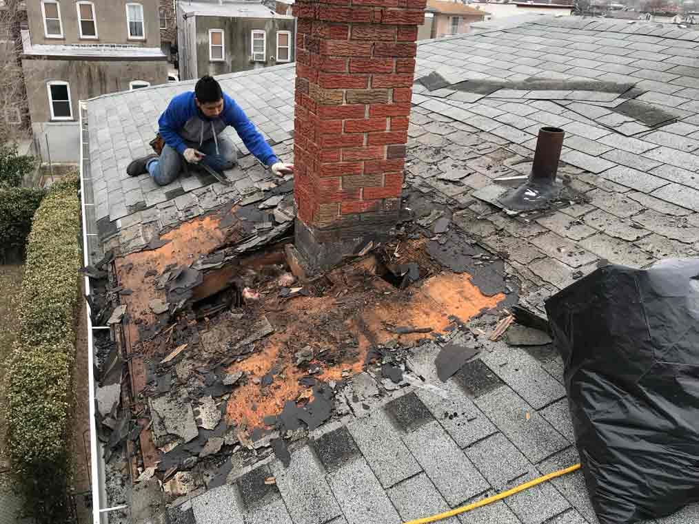 chimney leak repair company specialist near me NJ