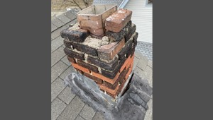 Chimney Deterioration Cement