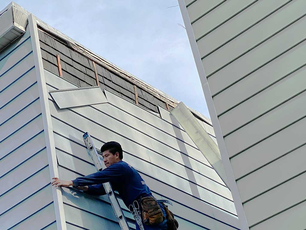 aluminum siding repair company specialist near me NJ
