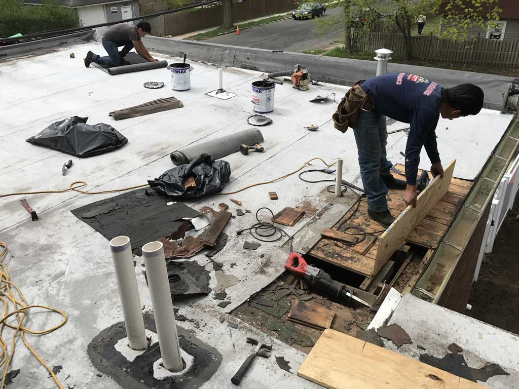 Commercial Flat Roof Leak Repair Specialist Company Near Me Local Roofers