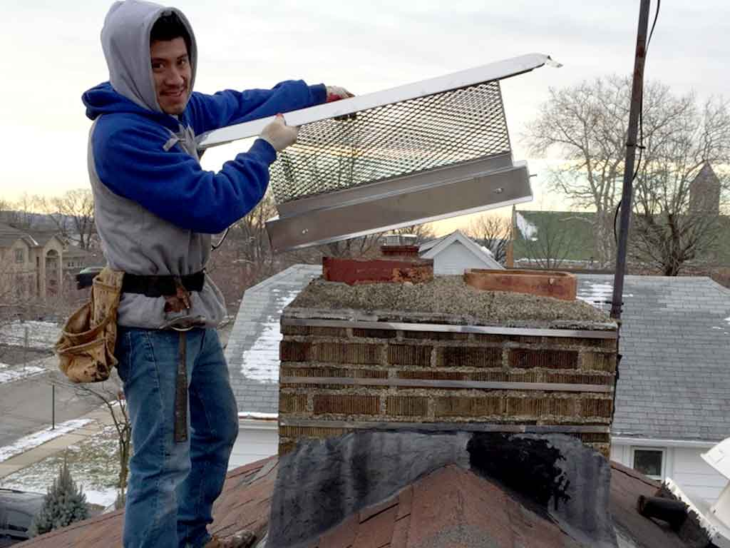 Custom Chimney Cap Installation specialist Company near me NJ