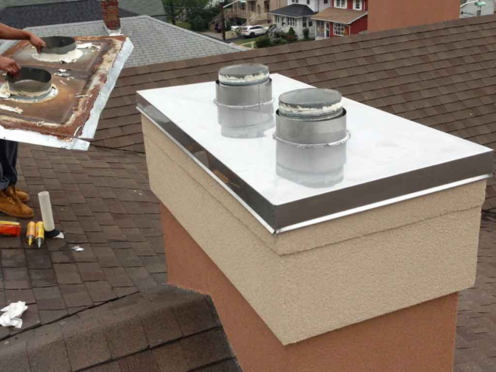 Custom chimney chase cover replacement Specialist Company near me NJ