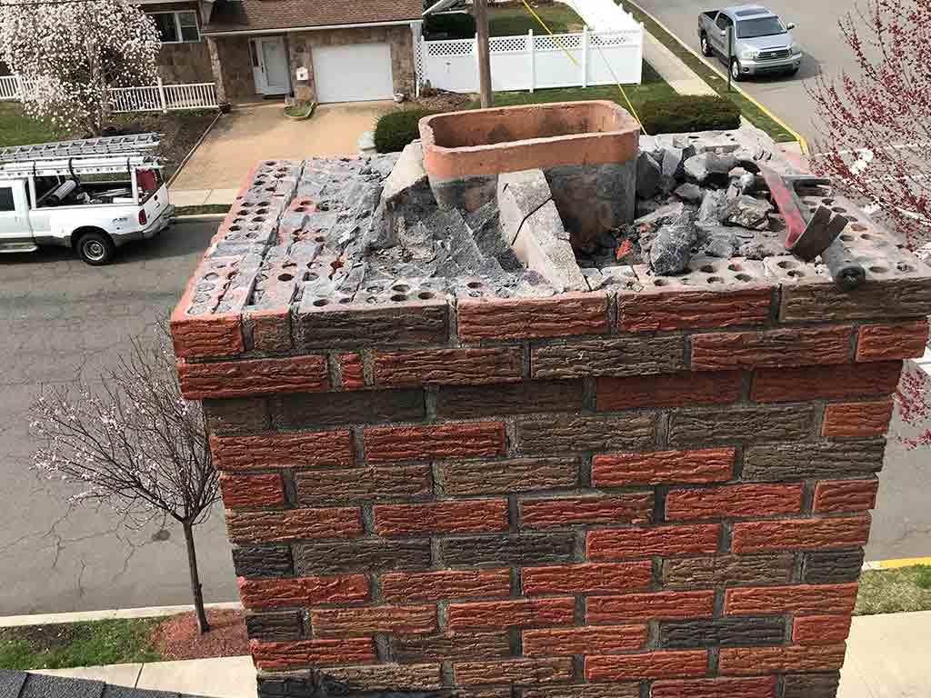 chimney crown repair contractor Specialist near me NJ