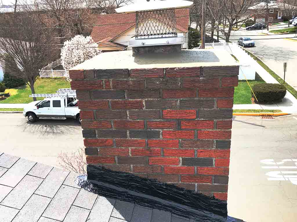 chimney crown repair specialists companies near me NJ.