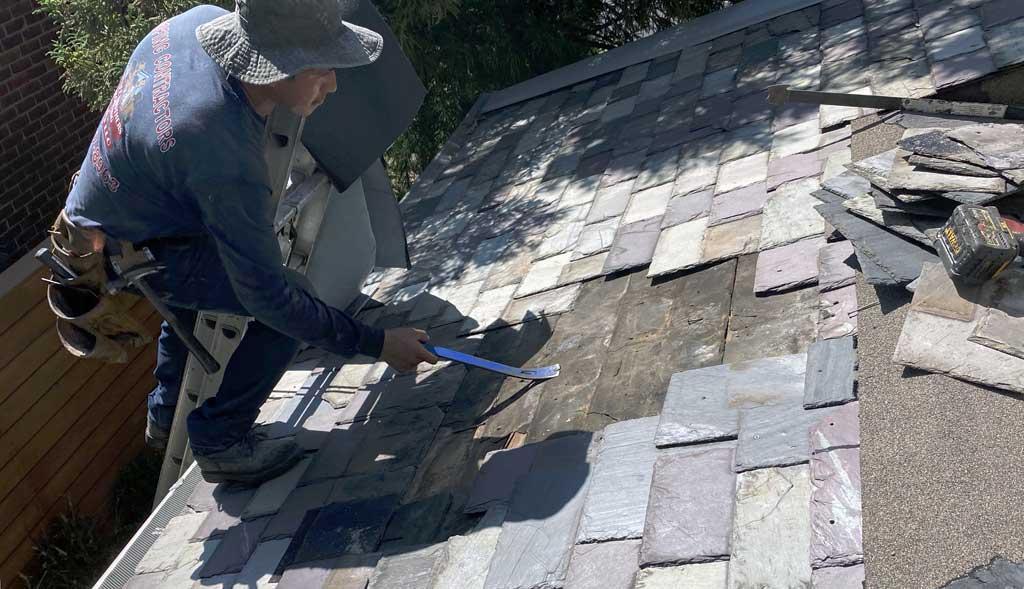 Slate Roof Repair Specialist